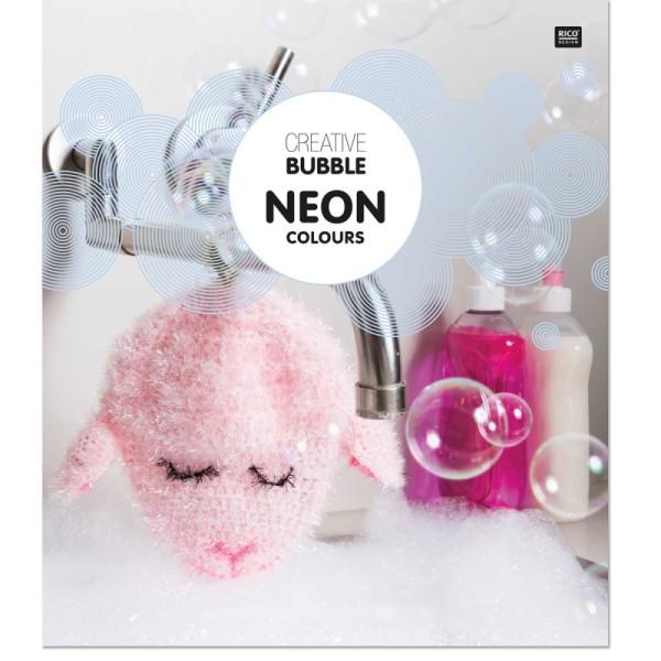 Livre Creative Bubble Eponges à crocheter - Thème Neon - 21 x 24 cm - Photo n°1