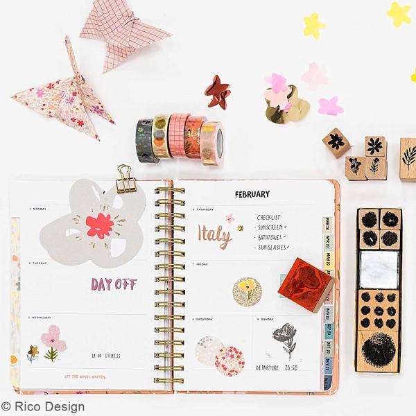 Agenda à spirales 2019 / 2020 - Take it easy Gris - 17 mois - Photo n°2
