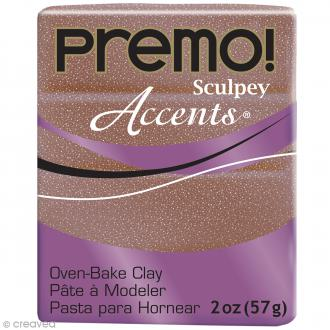 Pâte Sculpey Accents Rose Gold Glitter - 57 g