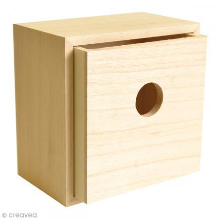 tiroir vide poches en bois d corer 15 cm meuble. Black Bedroom Furniture Sets. Home Design Ideas