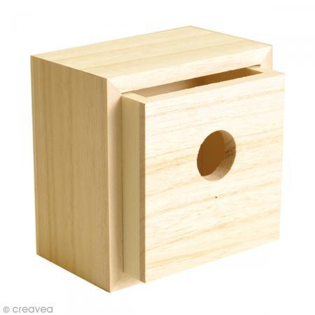 tiroir vide poches en bois d corer 10 cm meuble. Black Bedroom Furniture Sets. Home Design Ideas