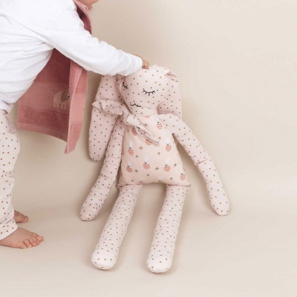 Kit couture Rico Design - Doudou Lapin - 25 x 72 cm - Photo n°4
