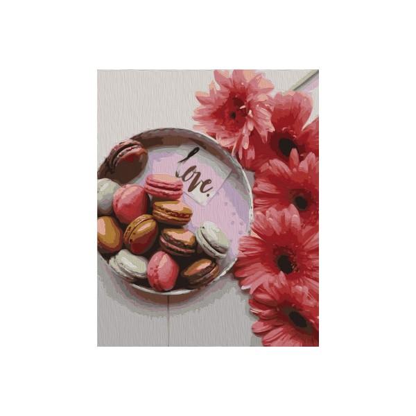 Kit de peinture par numéros - Doux cadeau - 40x50 cm - Photo n°1
