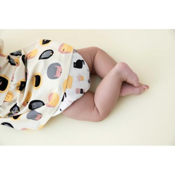 Patron robe Kimono et culotte pour bébé Katia Fabrics - Photo n°2