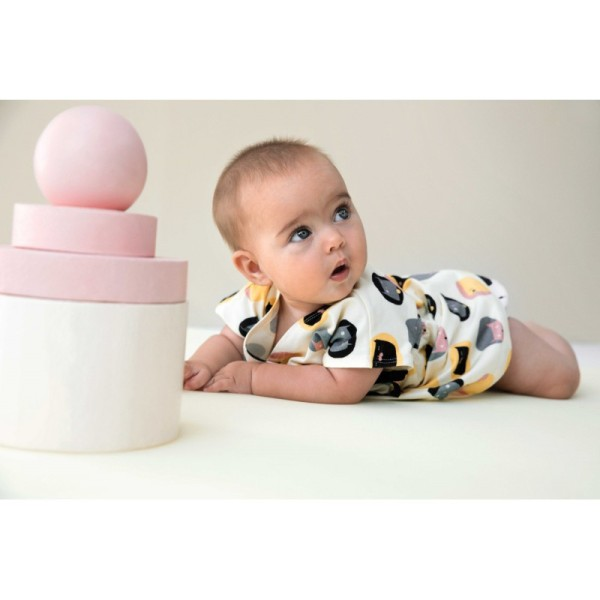 Patron robe Kimono et culotte pour bébé Katia Fabrics - Photo n°3
