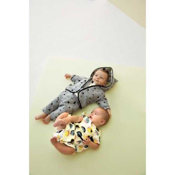Patron robe Kimono et culotte pour bébé Katia Fabrics - Photo n°4