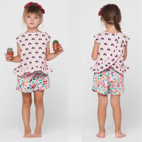 Patron Blouse et short fillette Katia Fabrics - Photo n°1