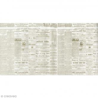 Feuille calque Artemio - Journal - 22 x 44 cm
