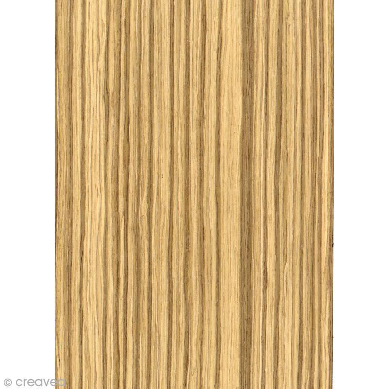 papier adh sif bois ch ne rainures a4 21 x 29 7 cm embellissement bois creavea. Black Bedroom Furniture Sets. Home Design Ideas