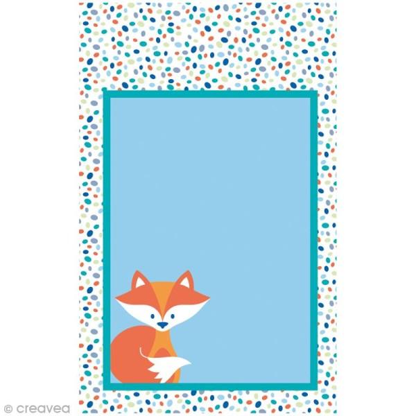 Mini carnet scrapbooking Grafic Time 7 x 11 cm - 30 feuilles - Photo n°2
