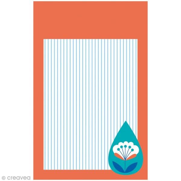 Mini carnet scrapbooking Grafic Time 7 x 11 cm - 30 feuilles - Photo n°3