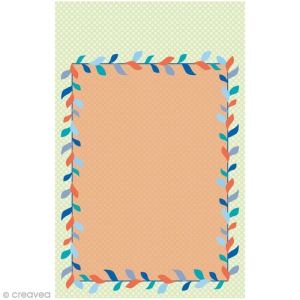 Mini carnet scrapbooking Grafic Time 7 x 11 cm - 30 feuilles - Photo n°4