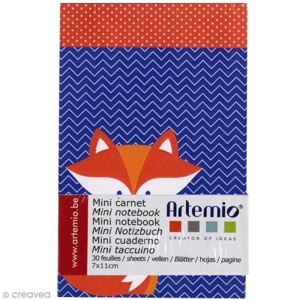 Mini carnet scrapbooking Grafic Time 7 x 11 cm - 30 feuilles - Photo n°1
