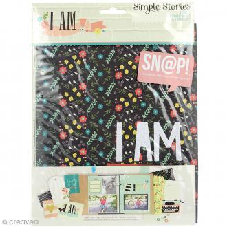 Intercalaires Simple Stories SNAP pour mini album - I AM - 9 pcs