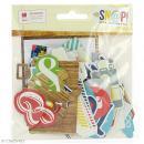 Die cuts Simple Stories - SNAP life documented - 68 pcs