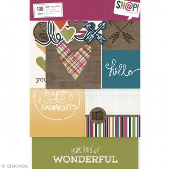 Assortiment Simple Stories Snap Pack - Lovely - 130 pcs
