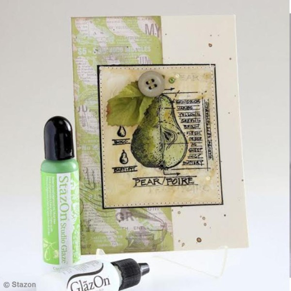 Encre vitrail Stazon Studio Glaze - 25 ml - Photo n°2