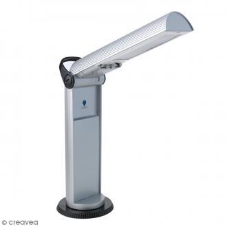 Lampe portative Twist - Grise et noire