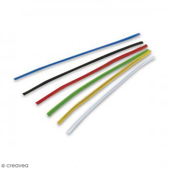 Liens pour fermeture de sac - Multicolores - 10 cm - 100 pcs