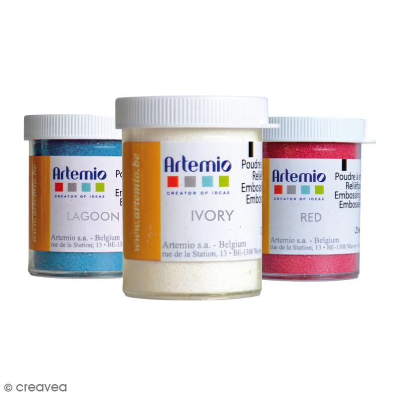 Poudre à embosser Artemio Opaque - 25 ml - Photo n°1