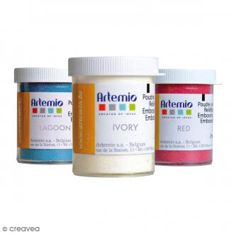 Poudre à embosser Artemio Opaque - 25 ml