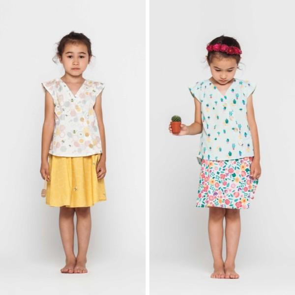 Patron Blouse et Jupe fillette Katia Fabrics - Photo n°1