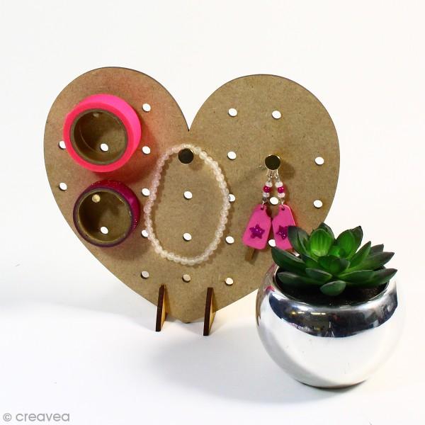 Mini Pegboard Coeur à poser - 17 x 15 cm - Photo n°2