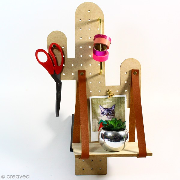 Pegboard Cactus - 26 x 50 cm - Photo n°2