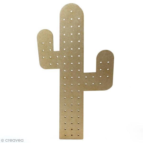Pegboard Cactus - 26 x 50 cm - Photo n°1