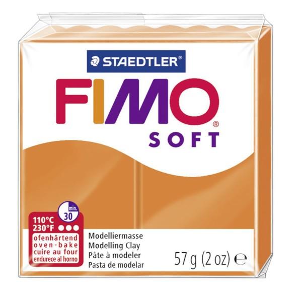 FIMO Soft Orange 57 octies, Bricolage Miniatures, Bricolage à la Main, de l'Artisanat Fournitures, d - Photo n°1