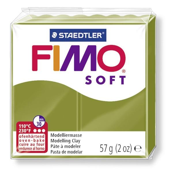 FIMO Soft Tendance Vert Olive 57 octies, Projets de Bricolage, Bricolage à la Main, de l'Artisanat F - Photo n°1