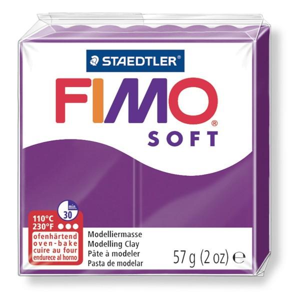 FIMO Soft Violet 57 octies, Bricolage Miniatures, Bricolage à la Main, de l'Artisanat Fournitures, d - Photo n°1