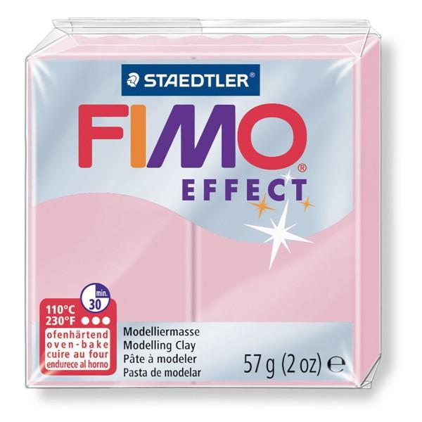 FIMO Effet Pastel Rose 57 octies, d'Artisanat, de la FIMO, un Four d'Argile, modelage en Argile, l'A - Photo n°1