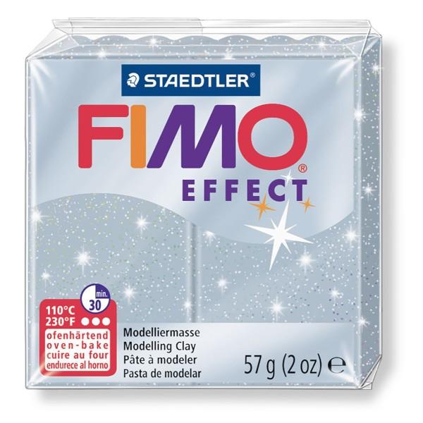 FIMO Effect Argent 57 octies, Argile de Polymère, un Four d'Argile, modelage en Argile, l'Argile à l - Photo n°1