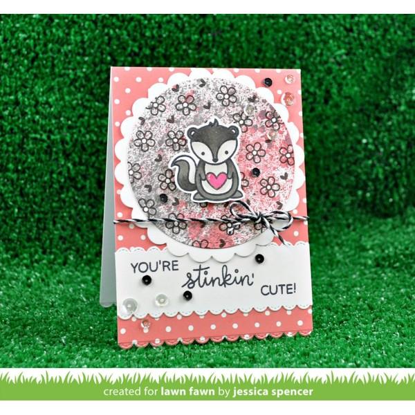 Tampon Lawn Fawn - Stinkin Cute - 12 pcs - Photo n°2