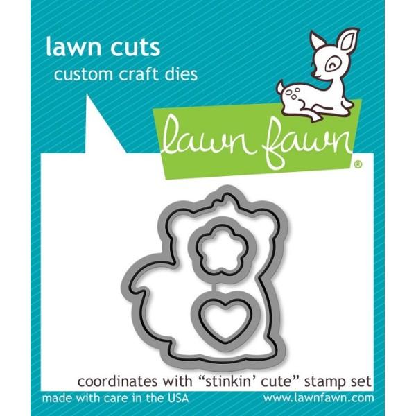 Tampon Lawn Fawn - Stinkin Cute - 12 pcs - Photo n°4