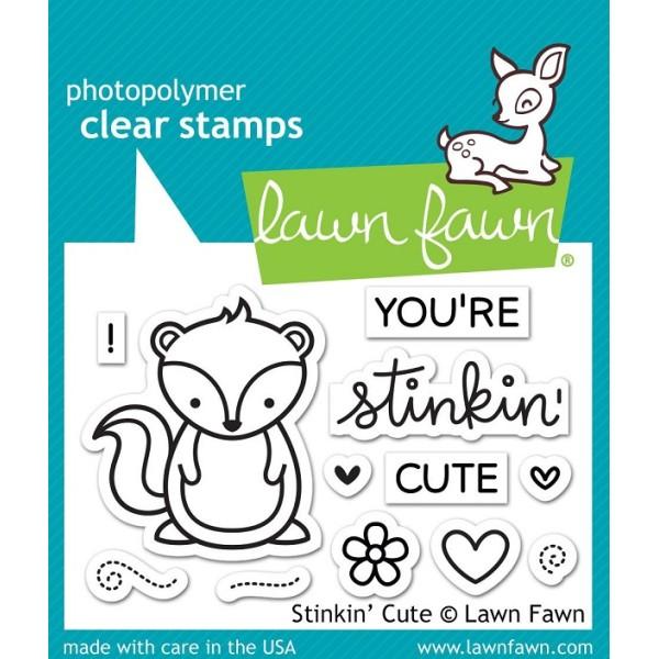 Tampon Lawn Fawn - Stinkin Cute - 12 pcs - Photo n°1