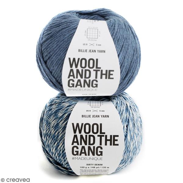 Fil en jeans recyclé Wool and the Gang - Billie Jean Yarn - 100 g - Photo n°1