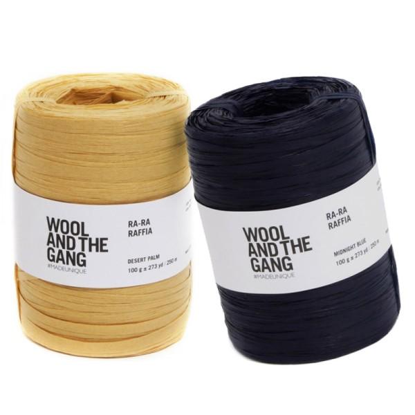 Raphia naturel Wool and the Gang - Ra-Ra Raffia - 100 g / 250 m - Photo n°1