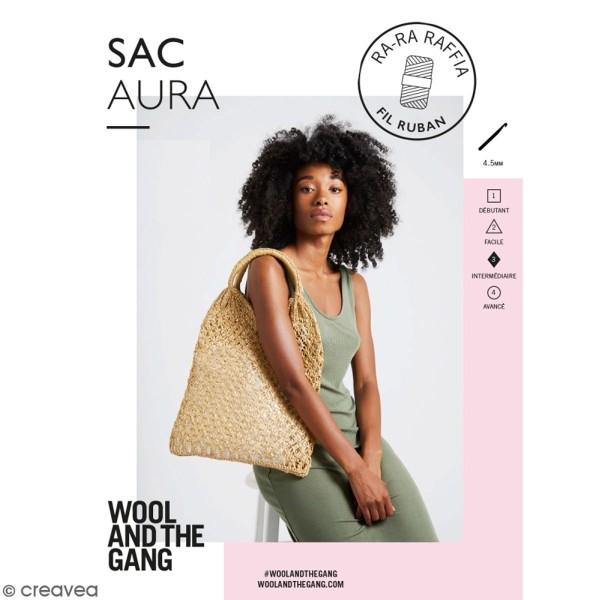 Patron Sac crochet aura - Ra-Ra Raffia Wool & the Gang - niveau Intermédiaire - Photo n°1