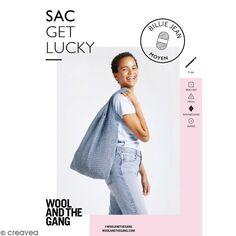 Patron crochet Sac crochet Get Lucky - Billie Jean Wool & the Gang - niveau Intermédiaire