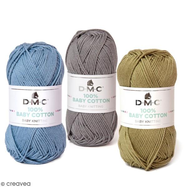 Fil DMC Baby Cotton - 50 g - Photo n°1