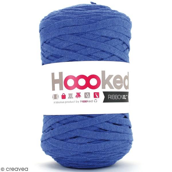 Ribbon XL DMC - Pelote Jersey Bleu jeans - 120 m - Photo n°1