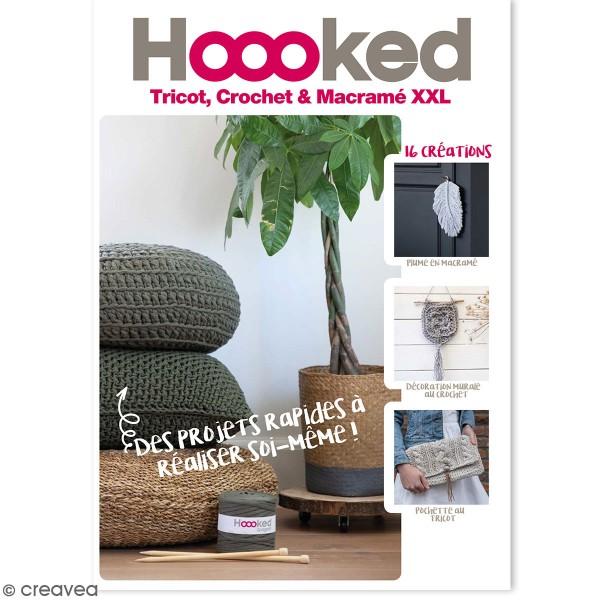 Hoooked magazine - Tricot, Crochet & Macramé - 16 modèles - Photo n°1