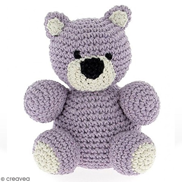 Kit crochet Amigurumi Hoooked - Billie l'ours - 4 pcs - Photo n°2