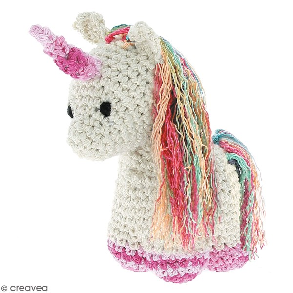 Kit crochet Amigurumi Hoooked - Nora la licorne - 4 pcs - Photo n°2