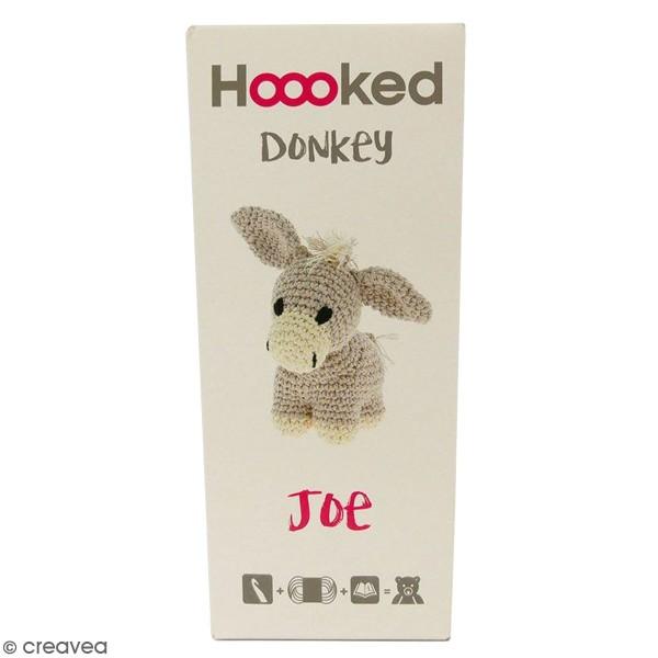 Kit crochet Amigurumi Hoooked - Joe l'âne - 4 pcs - Photo n°1