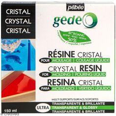Kit résine cristal organique - 150 ml