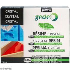 Kit résine cristal organique - 750 ml