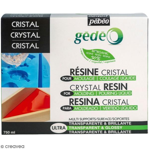 Kit Résine Cristal Bio - 750 ml - Photo n°1